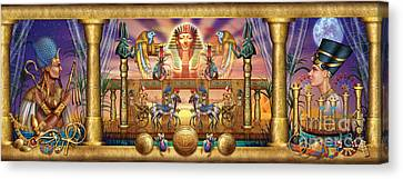 Egyptian Canvas Print by Ciro Marchetti