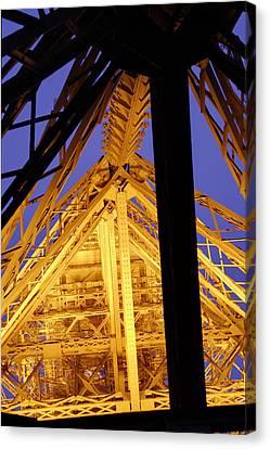 Eiffel Tower - Paris France - 011310 Canvas Print by DC Photographer