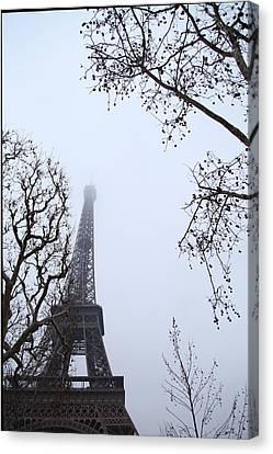 Eiffel Tower - Paris France - 011319 Canvas Print by DC Photographer