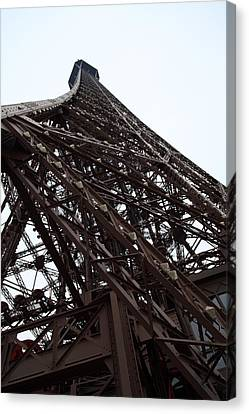 Antique Canvas Print - Eiffel Tower - Paris France - 01137 by DC Photographer