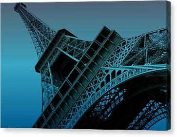 Eiffel Tower Canvas Print by Stephanie Hamilton