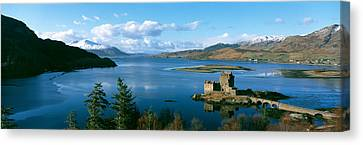 Historic Architecture Canvas Print - Eilean Donan Castle Scotland by Panoramic Images