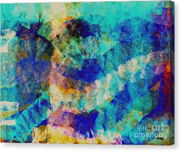 Electric Blue Canvas Print by Julio Haro