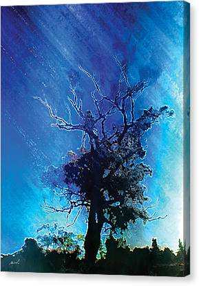 Electric Tree Canvas Print