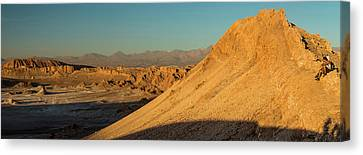 Valley Of The Moon Canvas Print - Elevated View Of Desert, Valle De La by Panoramic Images