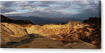Elevated View Of Rock Formations Canvas Print by Panoramic Images