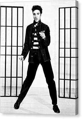 Elvis Presley Canvas Print by Doc Braham