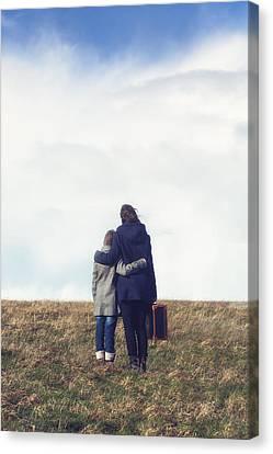 Embrace Canvas Print by Joana Kruse