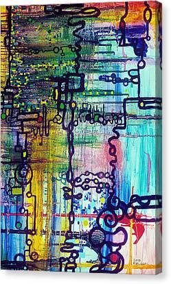 Emergent Order Canvas Print by Regina Valluzzi