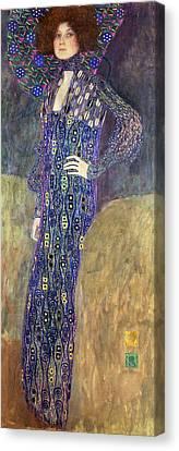 Emilie Floege Canvas Print by Celestial Images