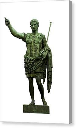 Dei Canvas Print - Emperor Caesar Augustus by Fabrizio Troiani