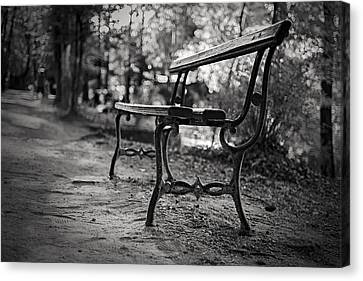 Canvas Print featuring the photograph Emptiness by Antonio Jorge Nunes