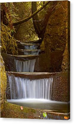 Endless Waterfall Canvas Print by Lara Ellis