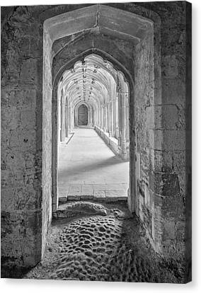 England, Lacock Abby Entryway Canvas Print by John Ford