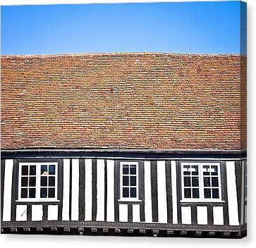 English House Canvas Print by Tom Gowanlock