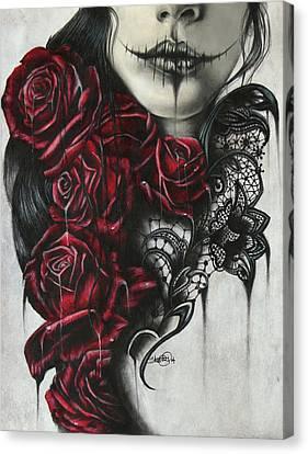 Entrap  Canvas Print by Sheena Pike