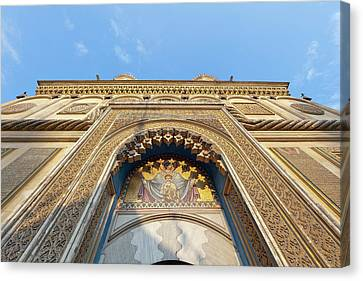 Episcopal Cathedral Of Curtea De Arges Canvas Print by Martin Zwick