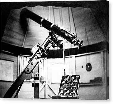 Equatorial Telescope Canvas Print