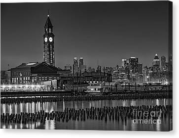 Erie Lackawanna Terminal At Twilight Canvas Print