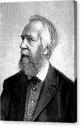 Ernst Haeckel Canvas Print by Universal History Archive/uig