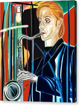 Erwin Vann Canvas Print
