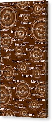 Espresso Canvas Print by Frank Tschakert