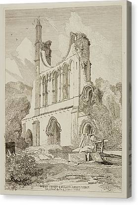Etchings By John Sell Cotman Canvas Print by British Library