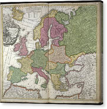 Baptising Canvas Print - Europe by British Library