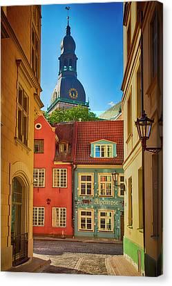 Europe, Estonia, Tallinn Canvas Print by Jaynes Gallery