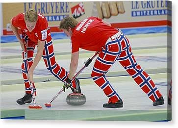 European Championship Canvas Print - European Curling Championships, Russia by Science Photo Library