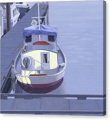 Evening At Port Hardy Canvas Print