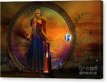 Evermore Canvas Print by Shadowlea Is