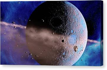 Extrasolar Planet Canvas Print by Joe Tucciarone