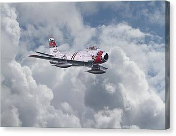 F86 Sabre Canvas Print by Pat Speirs