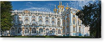 Russian-style Canvas Print - Facade Of A Palace, Catherine Palace by Panoramic Images