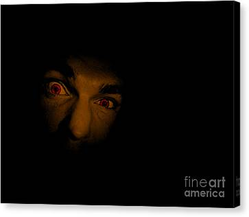 Face Of Evil Canvas Print by Jorgo Photography - Wall Art Gallery