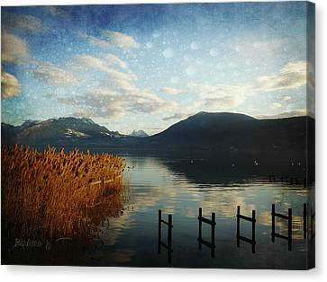 Canvas Print featuring the photograph Fairies Lake by Barbara Orenya