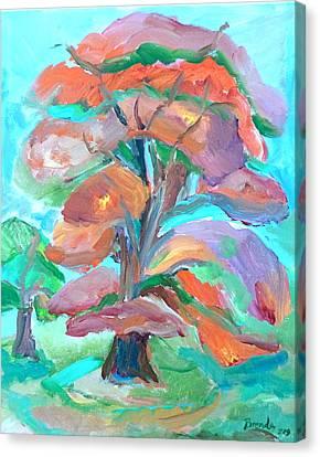 Fall Colors Canvas Print by Brenda Ruark