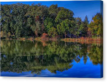 Fall Colors Canvas Print by Jerome Lynch