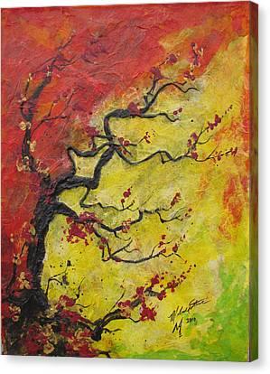 Fall Flame Canvas Print