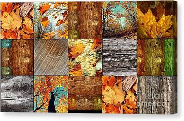 Fall  Canvas Print by France Laliberte
