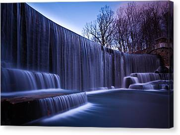 Falling Water Canvas Print by Mihai Andritoiu