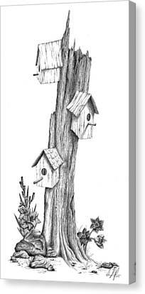 Gladiolas Canvas Print - Family Tree by Dana Alfonso
