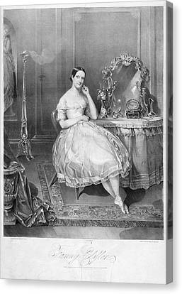 Fanny Elssler (1810-1884) Canvas Print by Granger