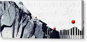 Fantasia - Piano Art By Sharon Cummings Canvas Print by Sharon Cummings