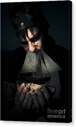 Ghostly Canvas Print - Fantasy And Mystery by Jorgo Photography - Wall Art Gallery