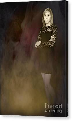 Fantasy Portrait Canvas Print by Amanda Elwell