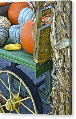 Farmers Market Canvas Print by Frozen in Time Fine Art Photography
