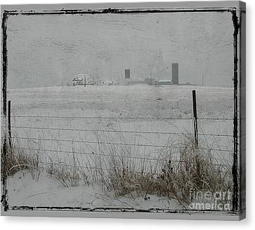 Farmstead Canvas Print by Jim Wright