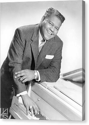 Fats Domino Canvas Print by Silver Screen